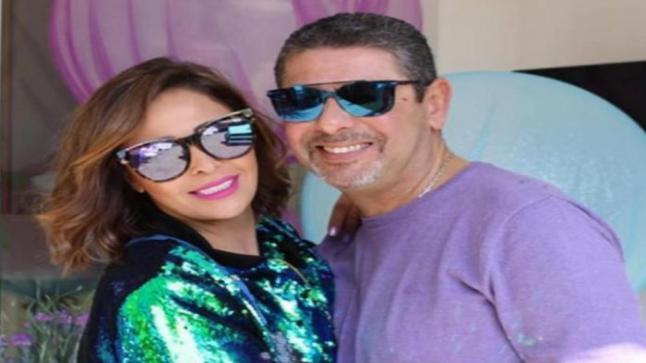 الفنانة داليا البحيري تعلن إصابة زوجها بفيروس كورونا