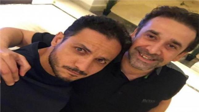 كريم عبد العزيز بكواليس مسلسل الاختيار 2 مع بيتر ميمي