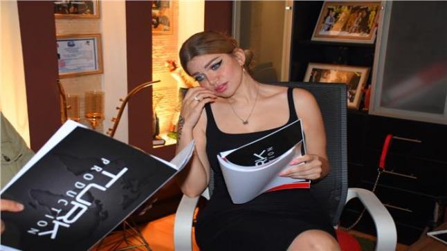 بدء الفنانة ياسمين الخطيب تصوير أول يوم بروفات لفيلمها الجديد